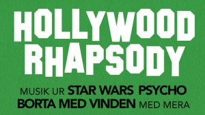 Musik ur Star Wars, Psycho, Borta med vinden, med mera